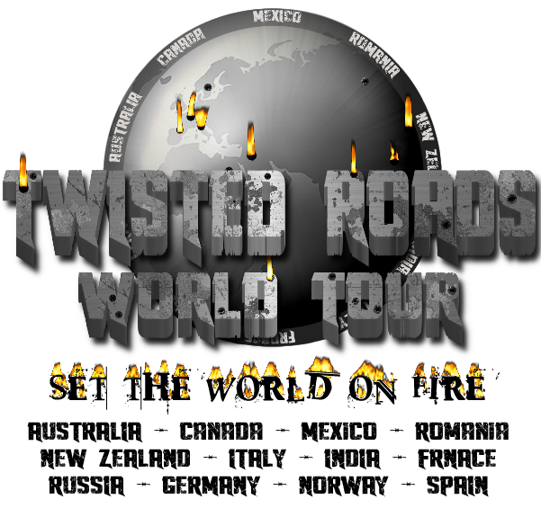 twisted roads world tour